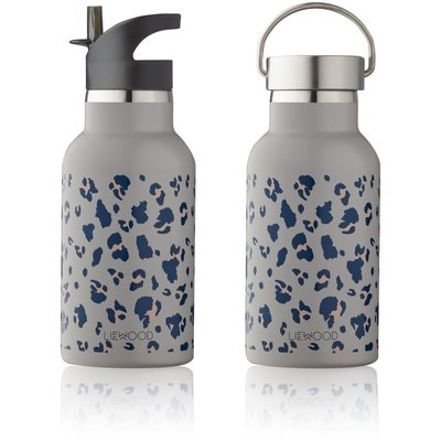 Liewood Liewood; Water bottle Anker, leo warm grey