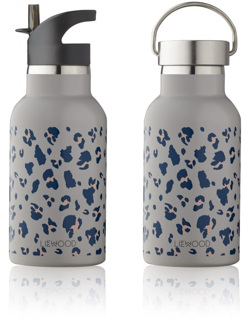 Liewood Anker – Water bottle, leo warm grey