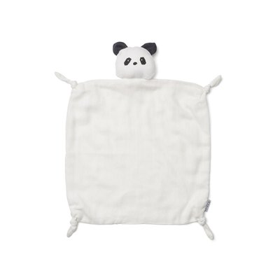 Liewood Agnete – Cuddle cloth, panda creme de la creme