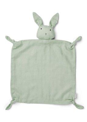 Liewood Agenete – Cuddle cloth, rabbit dusty mint