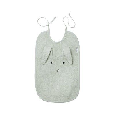 Liewood Liewood; Theo – Bib, rabbit dusty mint