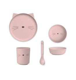 Liewood Bamboo – Box set, cat rose