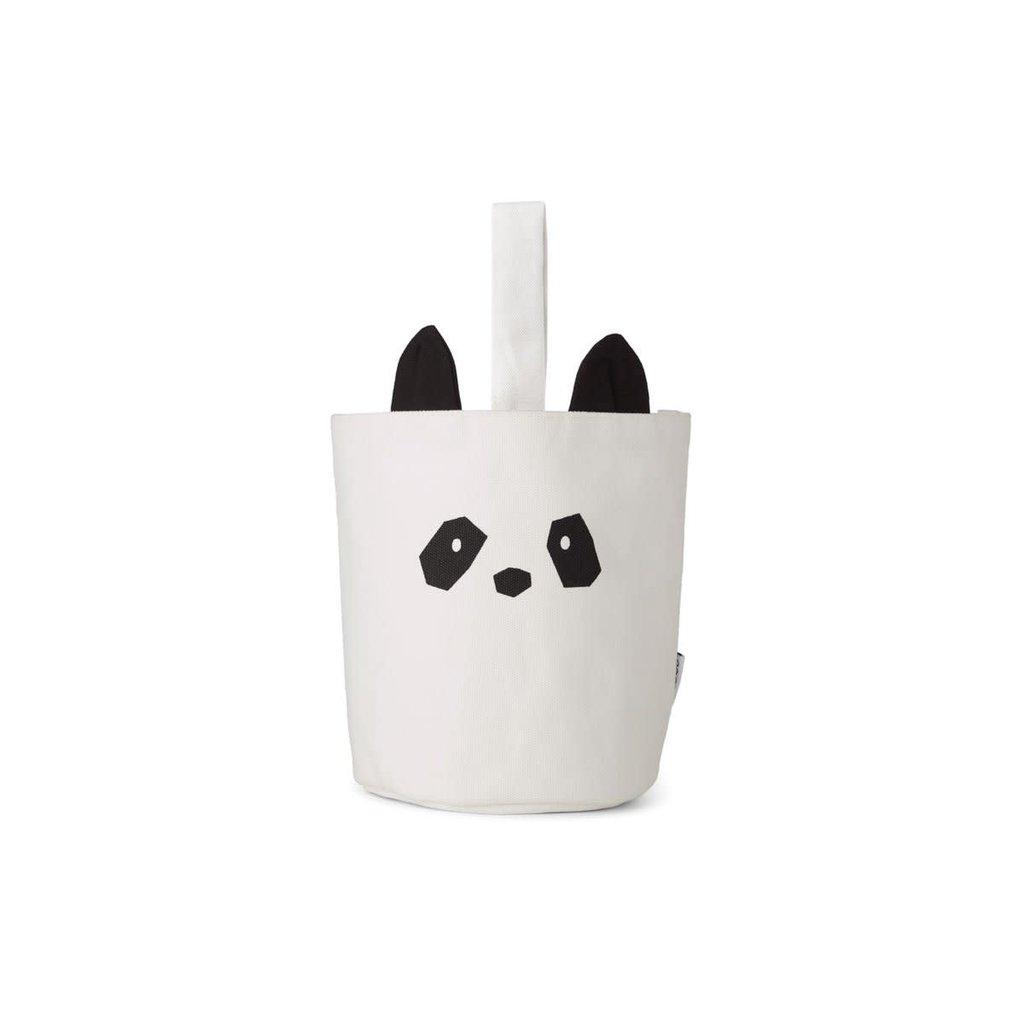Liewood Ib fabric – Basket, panda creme de la creme