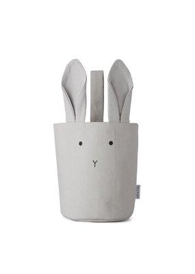 Liewood Ib fabric – Basket, rabbit dumbo grey