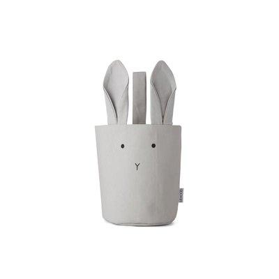 Liewood Liewood;  fabric  Basket, rabbit dumbo grey