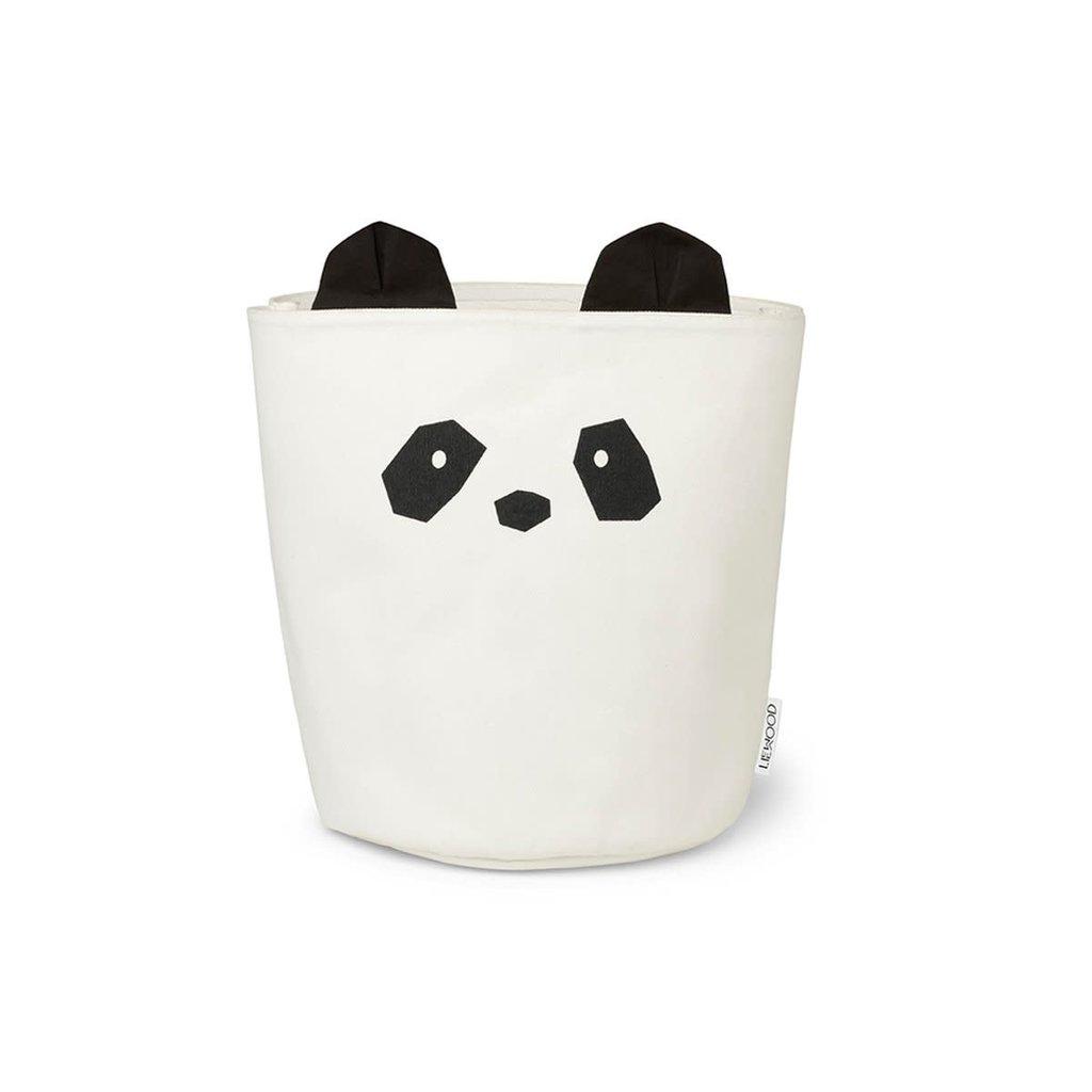 Liewood Ella – Frabric basket, panda creme de la creme