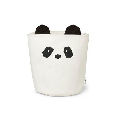 Liewood Liewood; Ella – Frabric basket, panda creme de la creme