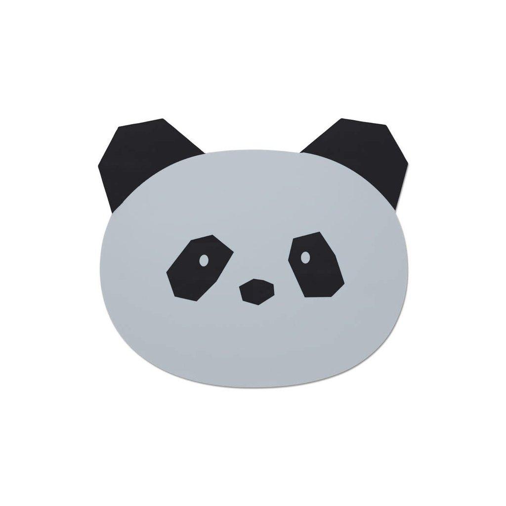 Liewood Aura – Placemet, panda dumbo grey