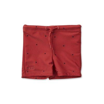 Liewood Liewood; Otto – Swim pants, classic dot rusty