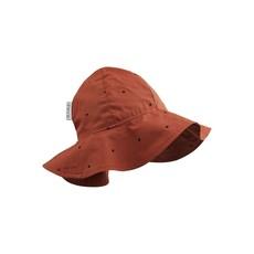 Liewood Amelia – Sun hat, classic dot rusty