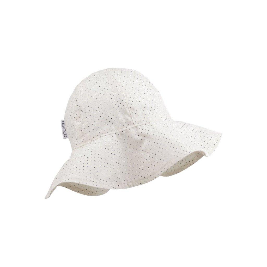 Liewood Amelia – Sun hat, little dot creme de la creme