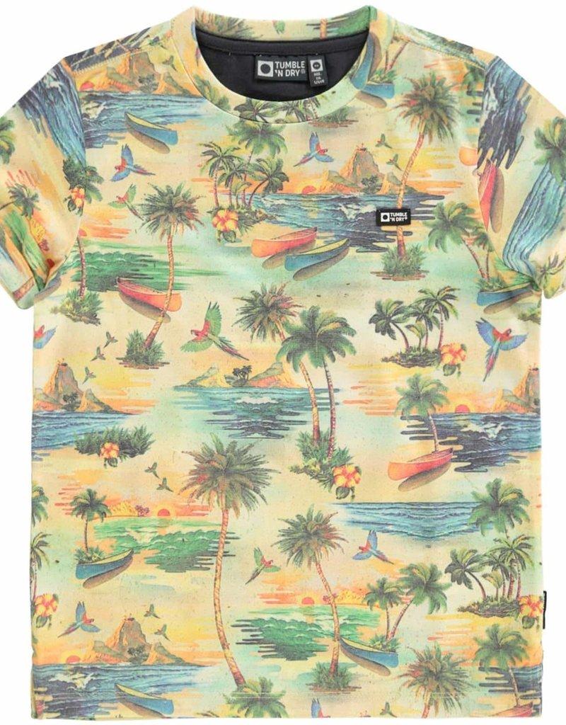 Tumble 'n Dry Dellis t-shirt – nasturtium