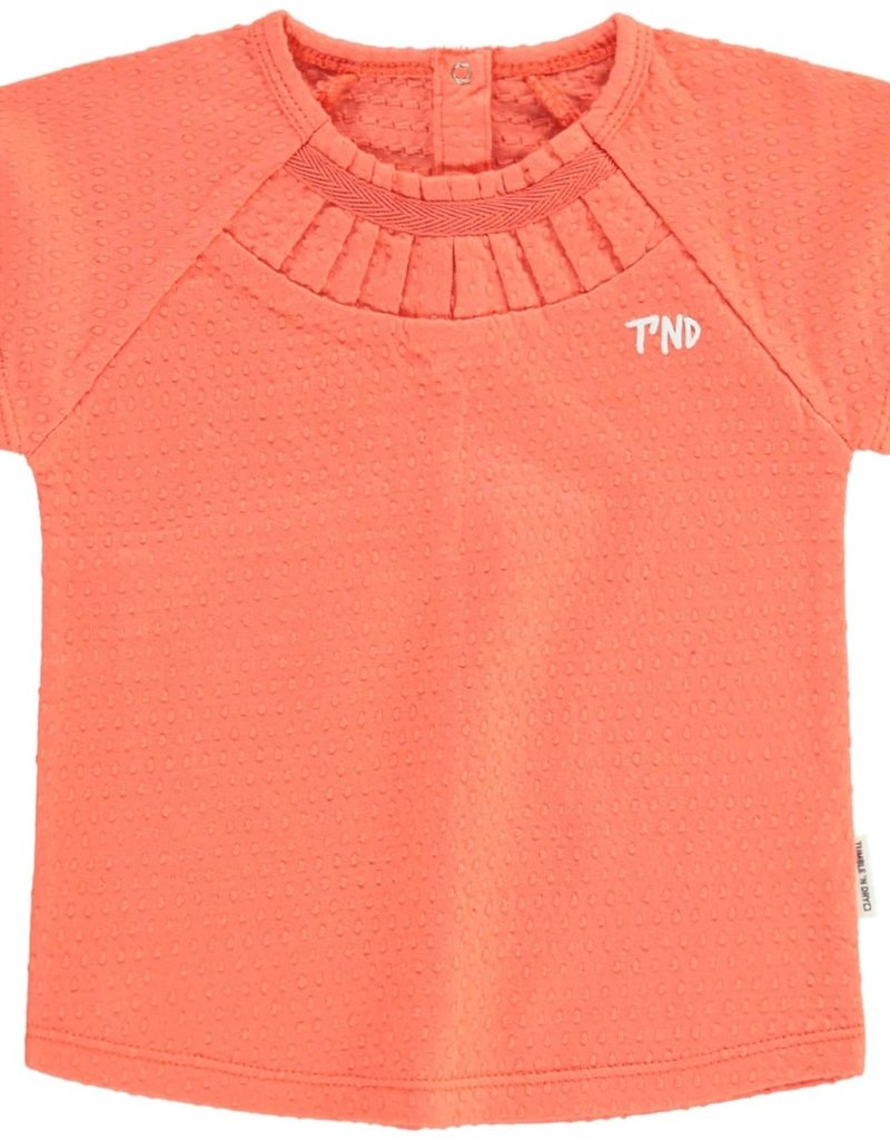 Tumble 'n Dry Ethana t-shirt – living coral