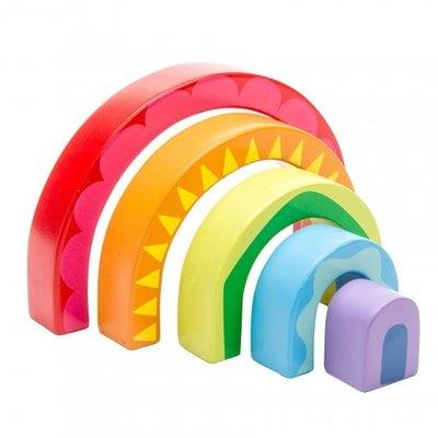 Le toy van Le Toy Van;  Puzzel Petiou Rainbow Tunnel