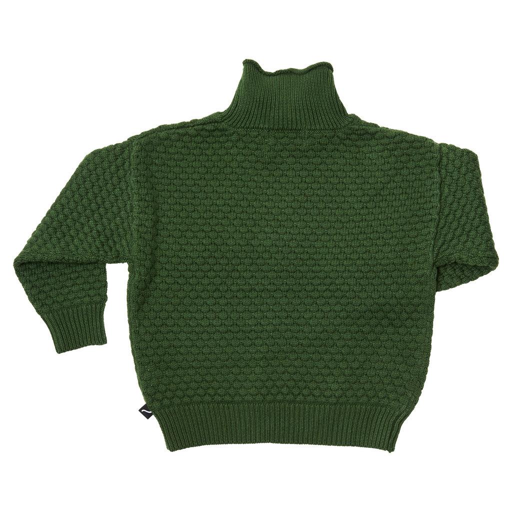 CarlijnQ CarlijnQ, Trui, knit basics, groen
