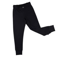 CarlijnQ Carlijn Q;  broek, chino jogger, zwart