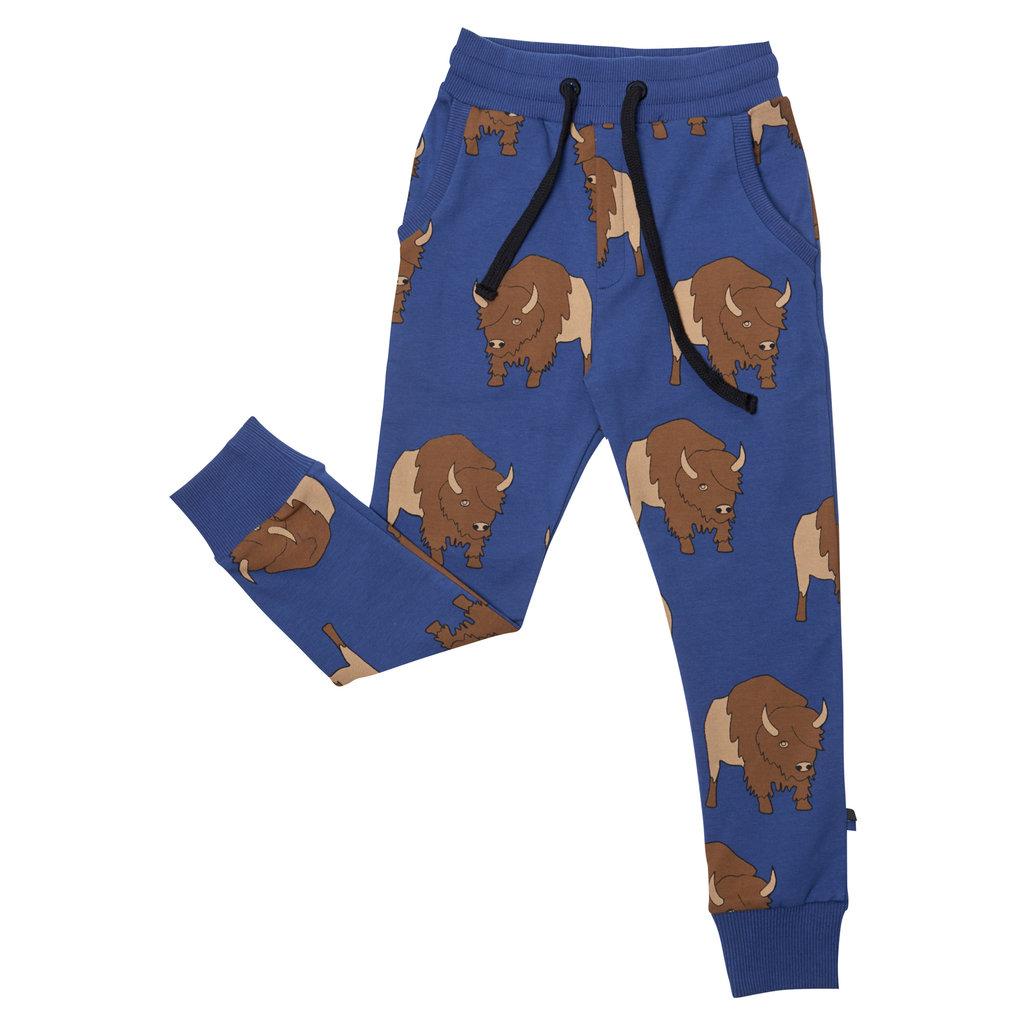 CarlijnQ CarlijnQ, broek jogging, bison, blauw