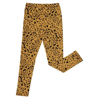 CarlijnQ CarlijnQ, legging, spotted animal, geel/zwart