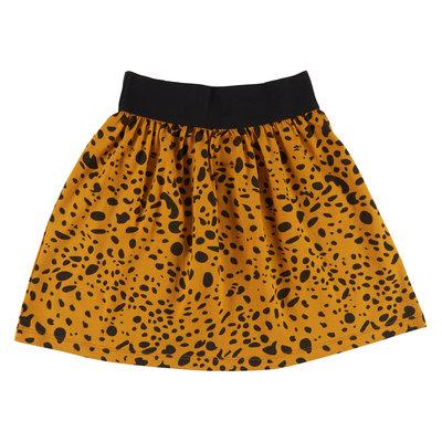 CarlijnQ CarlijnQ, rok, spotted animal, geel/zwart