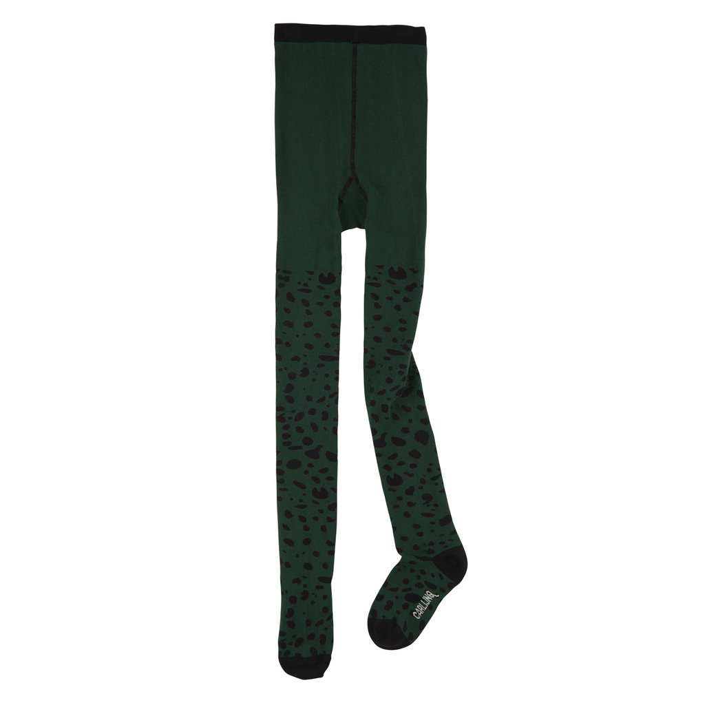 CarlijnQ CarlijnQ, maillot, spotted animal, groen/zwart
