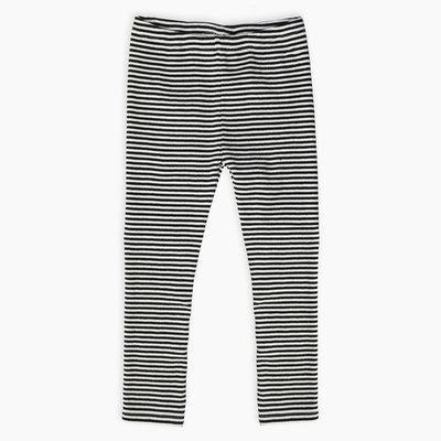 Sproet & Sprout Sproet & Sprout, legging, gestreept, zwart/wit, S&S-008