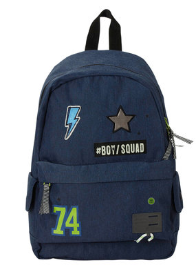 Skooter Skooter, rugzak, bos squad, blauw