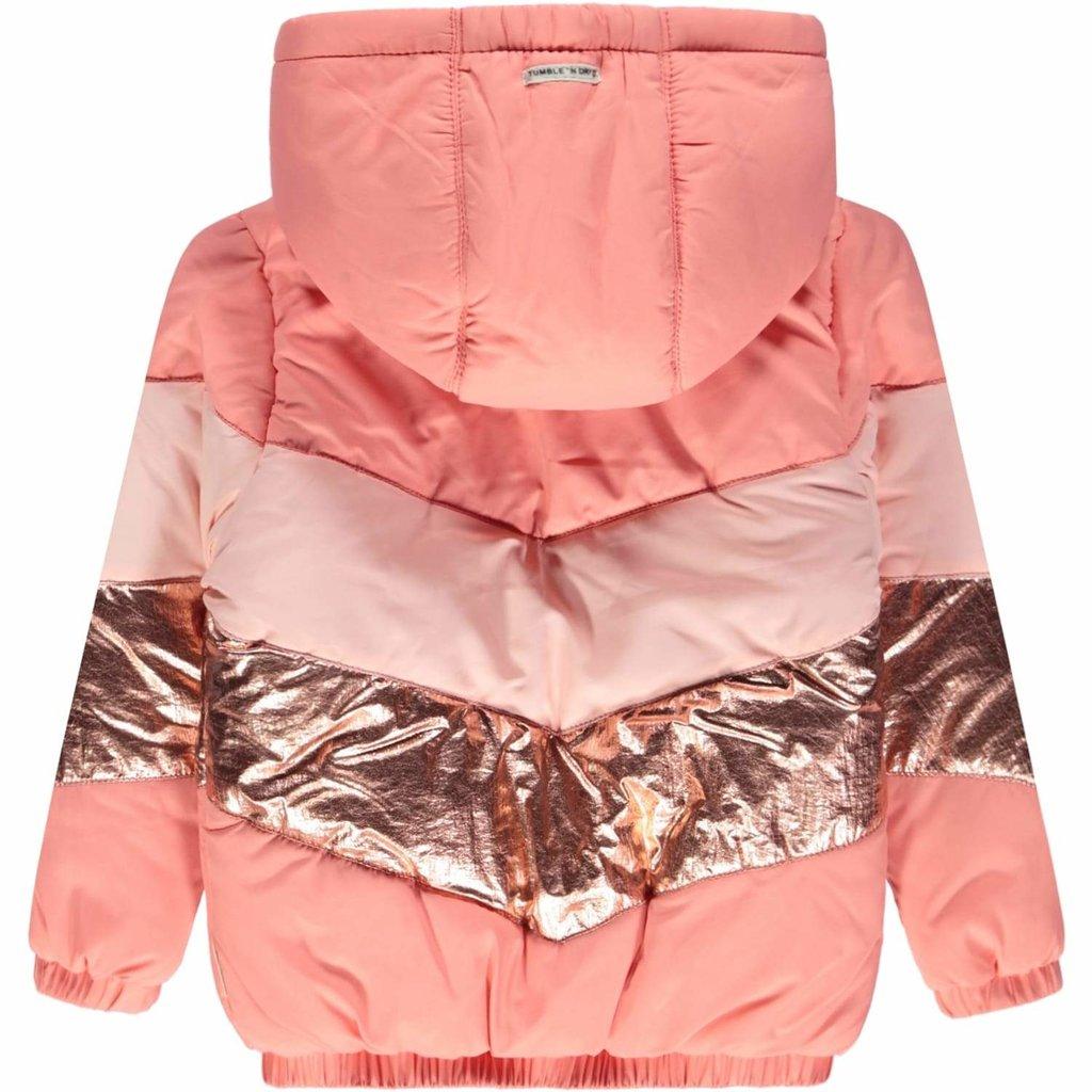 Tumble 'n Dry Tumble 'n Dry;   winterjas, roze Desert Flower Jazz