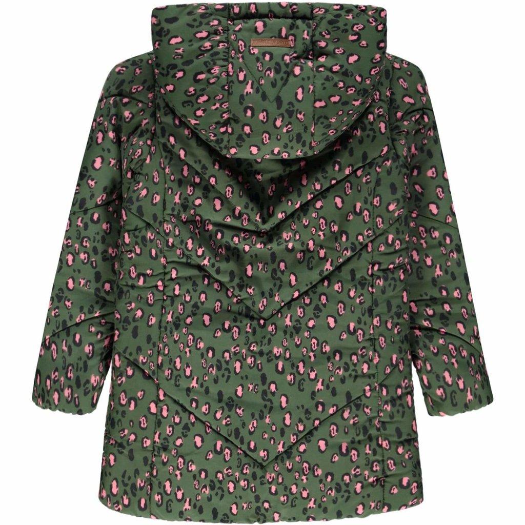 Tumble 'n Dry Tumble 'N Dry, jas, kadia, groen/panterprint
