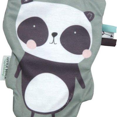 Little Dutch Little dutch, knisperknuffel panda, mint