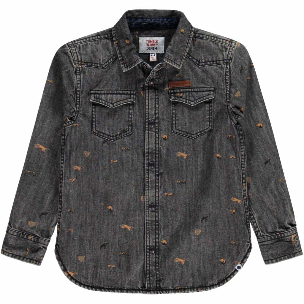 Tumble 'n Dry Tumble 'N Dry, blouse, vinn, donkergrijs