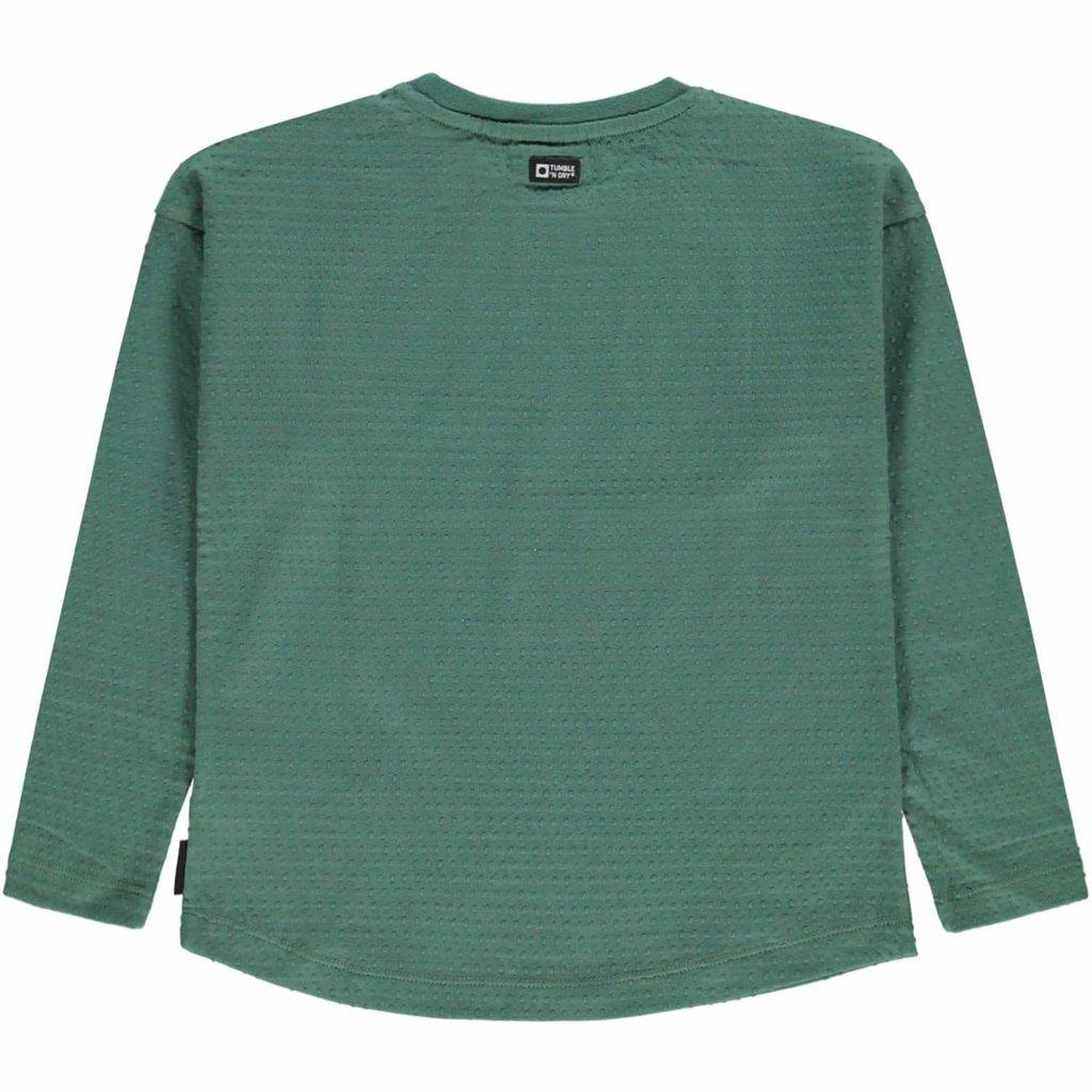 Tumble 'n Dry Tumble 'n Dry; longsleeve groen Royal Green Kayenna