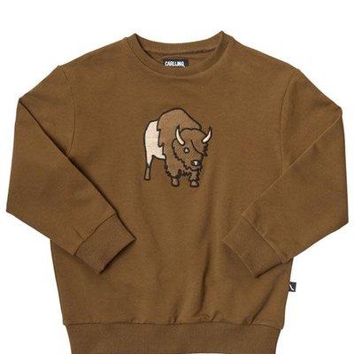 CarlijnQ CarlijnQ, trui, bison, bruin