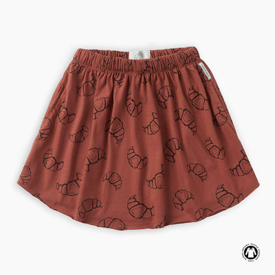 Sproet & Sprout Skirt print Croissant