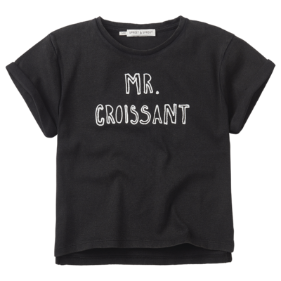 Sproet & Sprout Sproet & Sprout; T-shirt Mr. Croissant