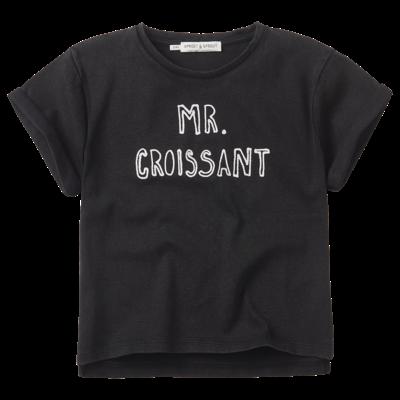 Sproet & Sprout T-shirt Mr. Croissant
