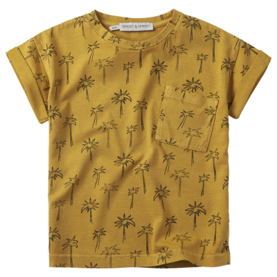 Sproet & Sprout Sproet & Sprout; T-shirt print Palm Tree