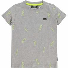 Tumble 'n Dry Tumble 'n dry t-shirt grijs Light grey melange Gosso