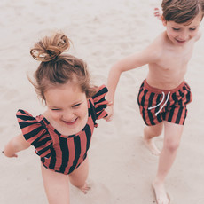 Sproet & Sprout Swim shorts Painted Stripe