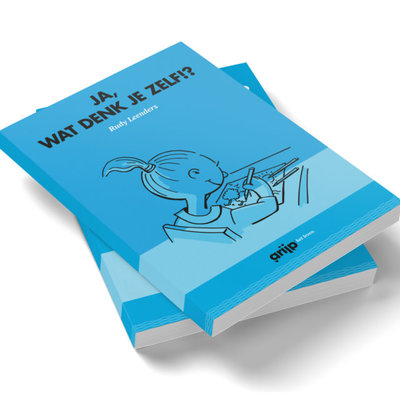 Boekje Grijp het leven; 'Ja,wat denk je zelf!?'