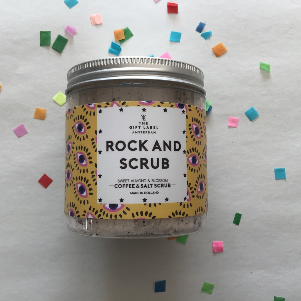 The gift label The gift label;  coffee salt scrub Rock and scrub