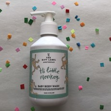 The gift label The gift label;  baby body wash Hi Little monkey
