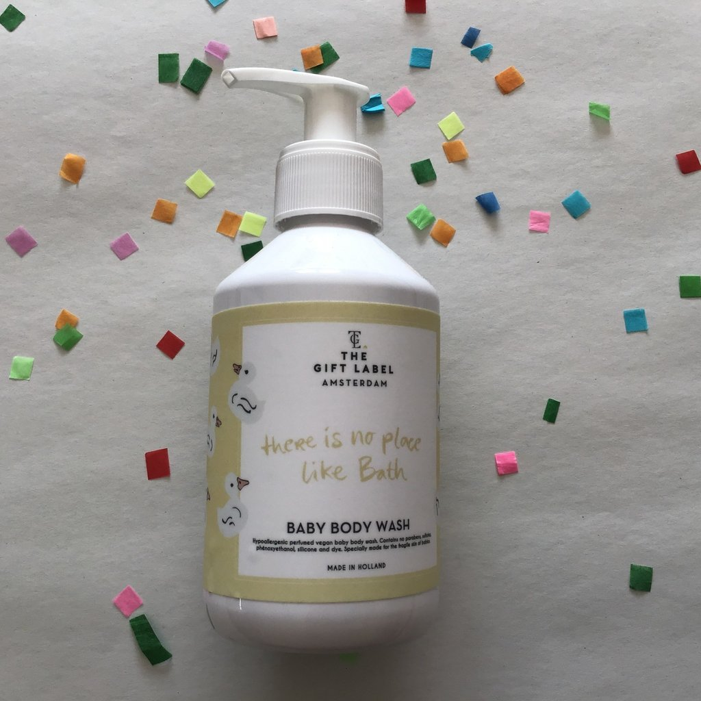 The gift label The gift label;  baby body wash There is no place like bath