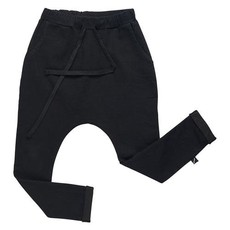 CarlijnQ; Pocket Sweatpants black denim 62/68