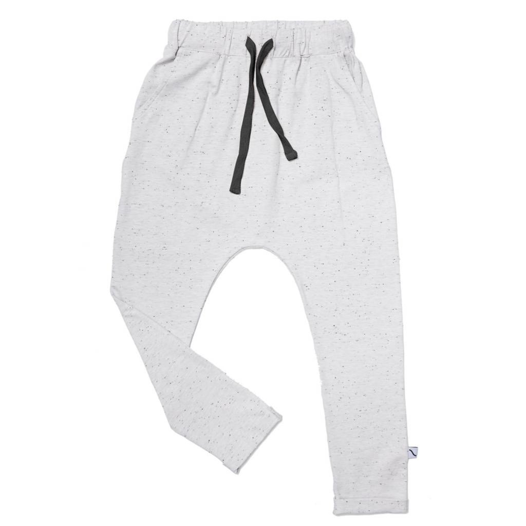CarlijnQ; Basics grey- Sweatpants with pockets 122/128