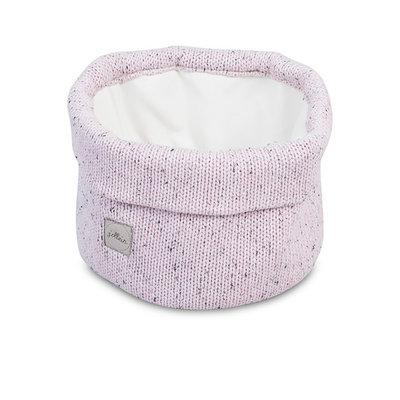 Jollein Mandje confetti knit vintage pink, Jollein