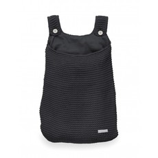 Jollein Jollein; Boxopbergzak Heavy knit black