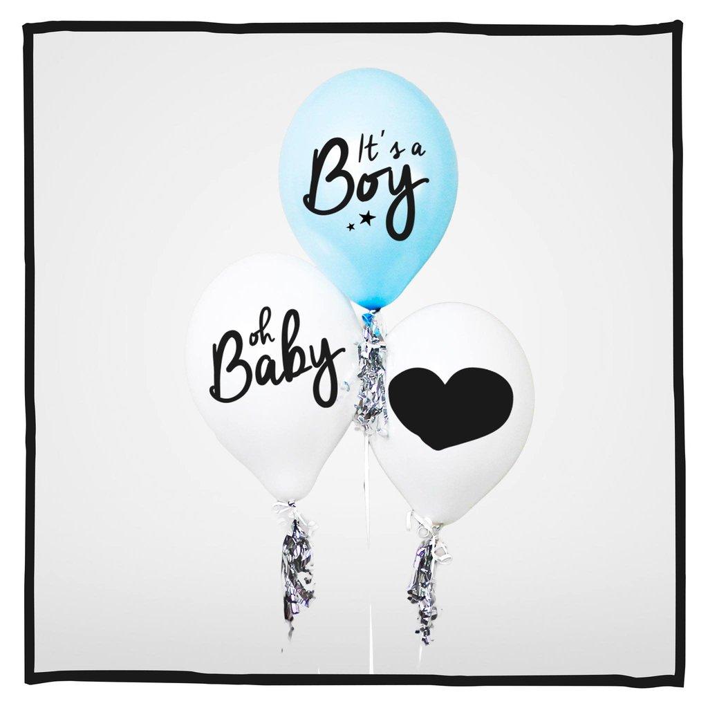 Ballonnen It's a Boy!!! 30 stuks