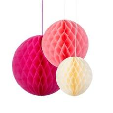 Honeycomb 3 stuks Blush Talking Tables