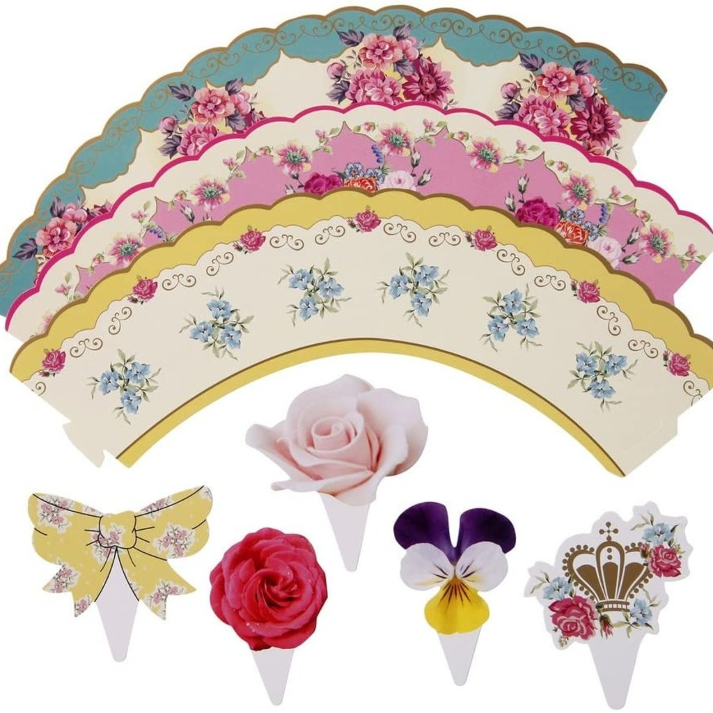Cake wraps & toppers Talking Tables