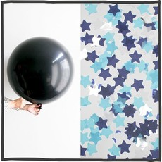 Gender reveal ballon 90cm Blauw